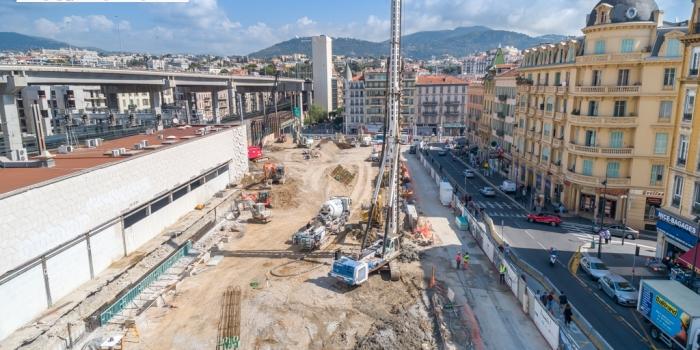 DRONEXPERTISE assure le suivi du chantier ICONIC à NICE
